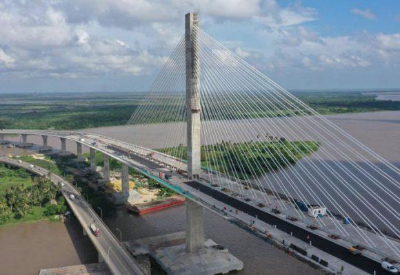 Se inaugura el nuevo puente Pumarejo