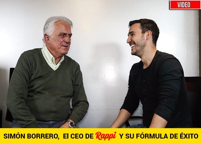Simón Borrero con su Rappi entre los 50 líderes más influyentes del mundo