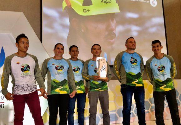 Equipo de rafting de exguerrilleros: mejores deportistas del año