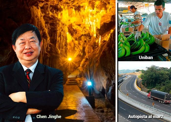 Los chinos pisan duro en Antioquia