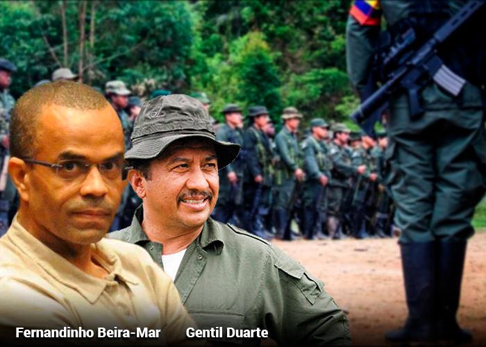 La conexión brasilera de la disidencia de Gentil Duarte y John 40