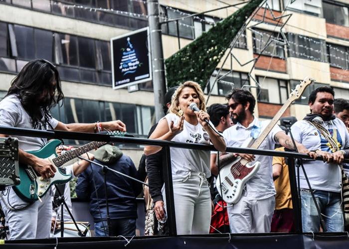 Los artistas de 'Un canto por Colombia' no son ningunos aparecidos