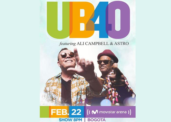 UB40, Ali Campbell & Astro llegarán a Colombia en el 2020