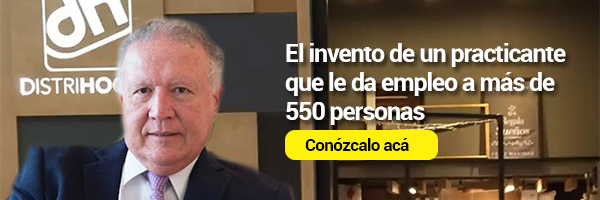 El invento de un practicante que le da empleo a más de 550 personas