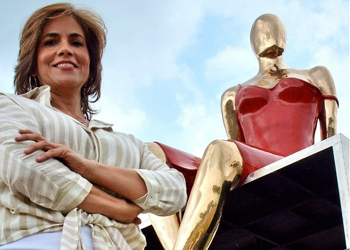 'Ella', la escultura de María Fernanda Cuartas que estrenó Palmira