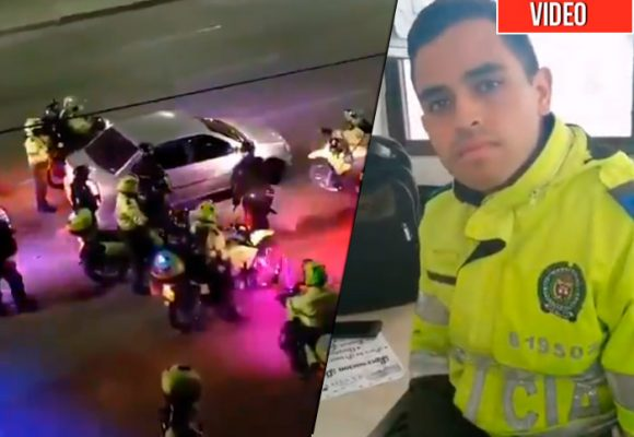 Patrullero desmiente versión de la Polícia sobre detención de estudiantes