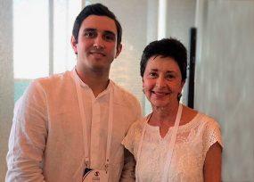 El libro que le regaló el hijo de Jorge 40 a Lina Moreno