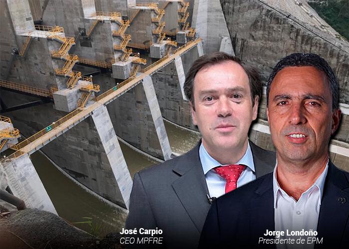 Mapfre pagará $ 3 billones por seguro de Hidroituango