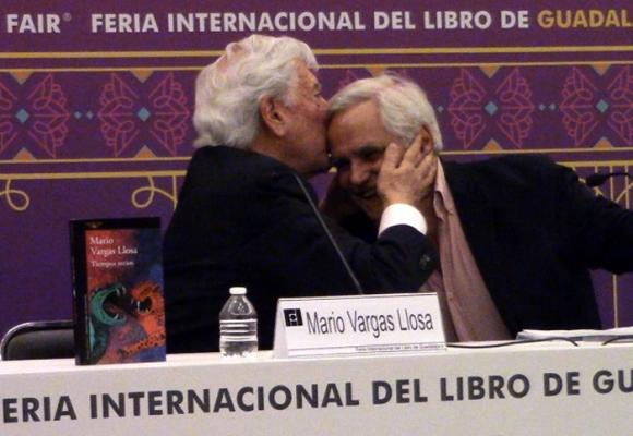 """Vargas Llosa, proclamado como el """"nuevo Cervantes"""""""
