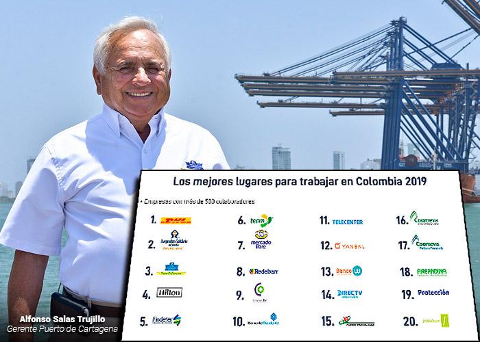 Los mejores lugares para trabajar en Colombia