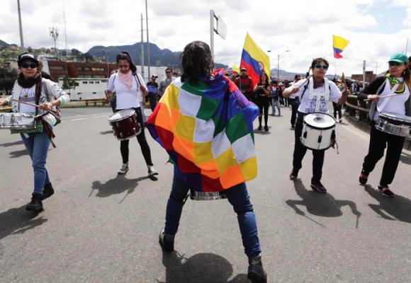¡A defender el Estado social de derecho en Colombia!