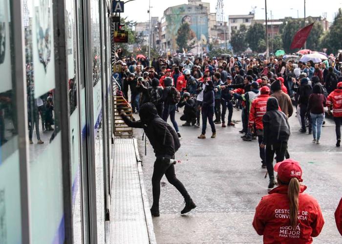 Psicoanálisis del vandalismo y las protestas