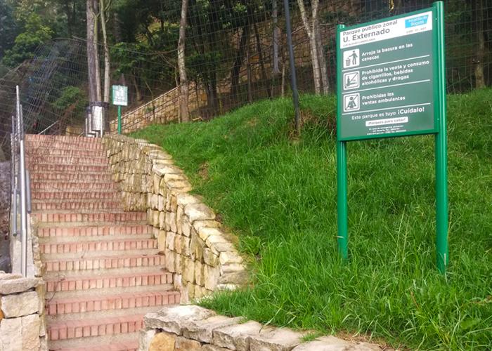 ¿Parque público zonal U. Externado?
