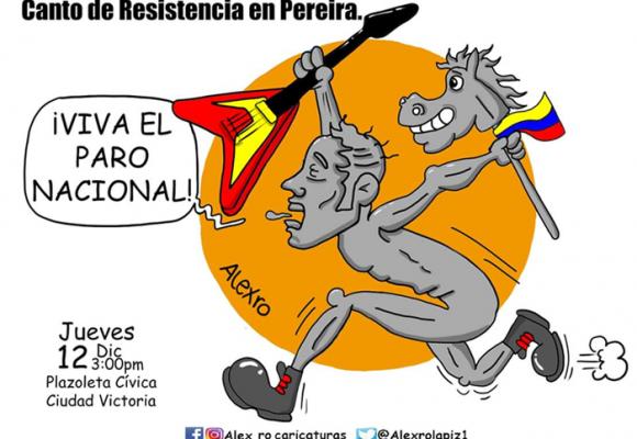 Caricatura: Un canto de resistencia