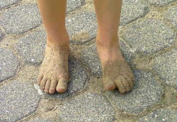 El niño descalzo de la Iglesia San José de Popayán