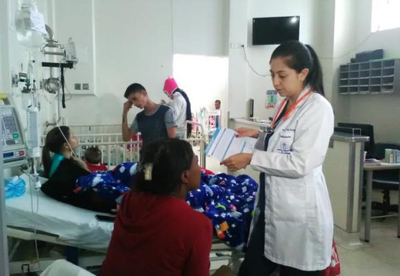 Los médicos residentes del Hospital del Valle ya recibieron su primer pago