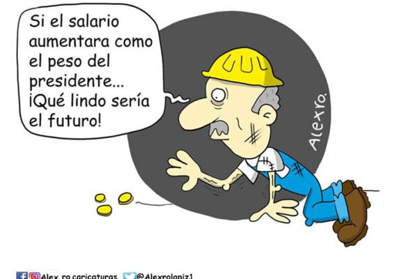 Caricatura: Para los ricos todo, para los pobres nada