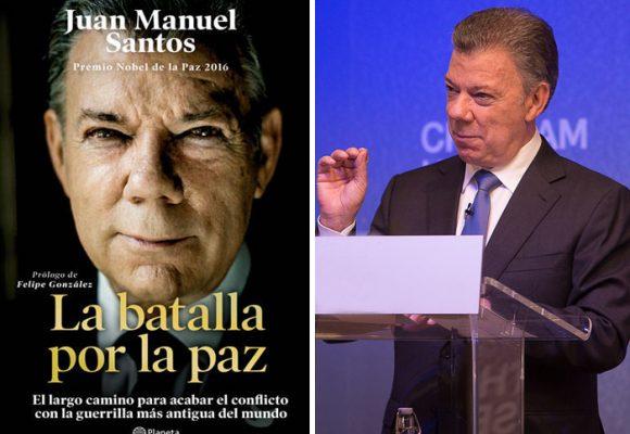 El libro de Santos: el más vendido del 2019 en Colombia