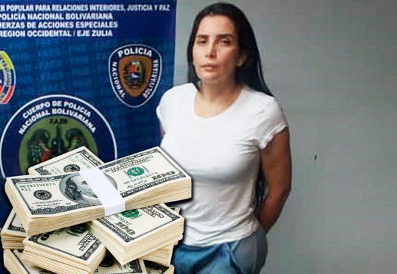La fortuna con la que Aida Merlano quiso sobornar a la policía chavista