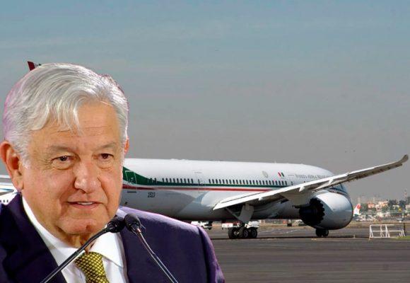 La encartada de AMLO con el avión presidencial mexicano