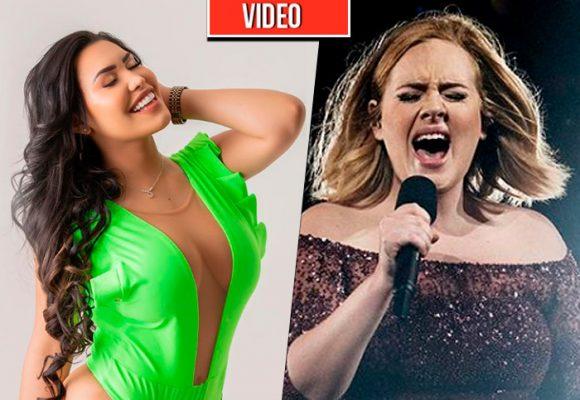 Ana del Castillo y su triste intento de imitar a Adele