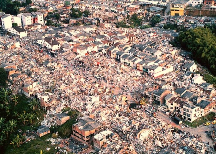 El terremoto del Quindío, un infierno difícil de olvidar