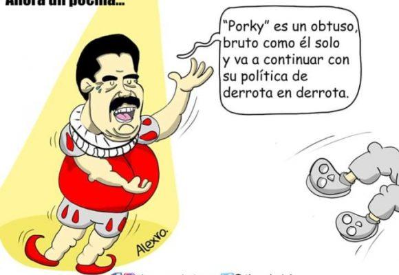 Caricatura: Maduro... el poeta