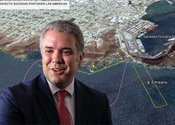 El puerto que Duque construirá en lugar sagrado para indígenas de la Sierra Nevada