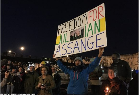 Julian Assange, en espera del veredicto