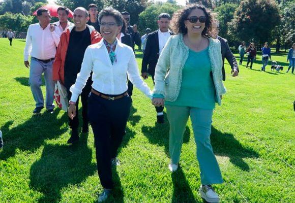 Angélica Lozano: una primera dama bien particular