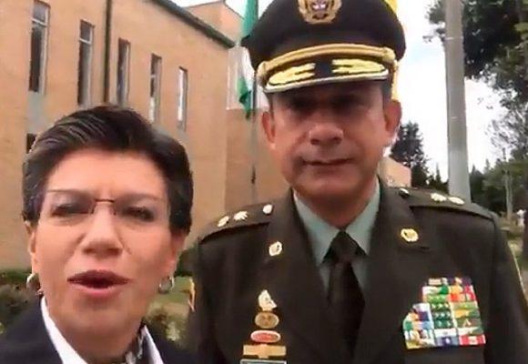 ¿La Policía de Bogotá si aceptará que la mande una lesbiana?
