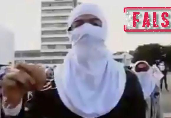El video del alcalde de Medellín encapuchado con el que los uribistas lo calumnian