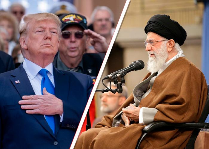 Trump baja el tono contra Irán y bolsa de NY Sube