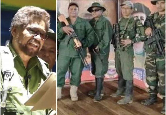 Cumbre de la disidencia de Márquez en frontera colombo-venezolana