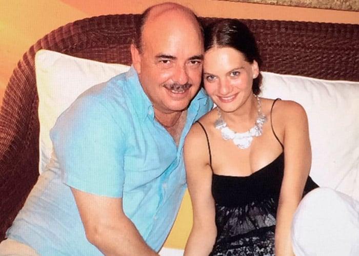El dolor de Maia Landaburu, el último amor de Fernando Gaitán
