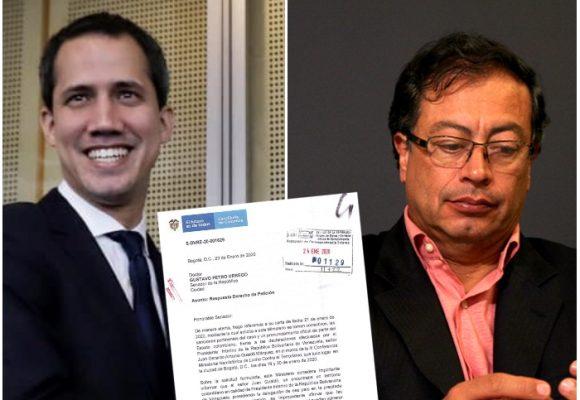 Juan Guaidó con licencia para insultar en Colombia