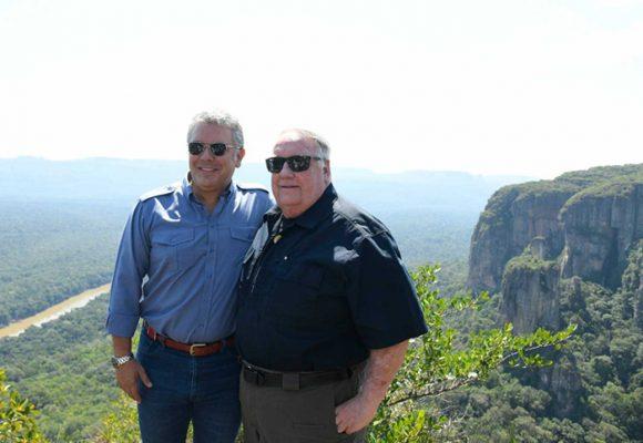 El millonario Howard Buffett Jr. y Chiribiquete
