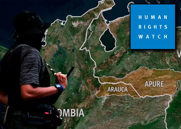 Sobre el informe de HRW de la frontera en Arauca
