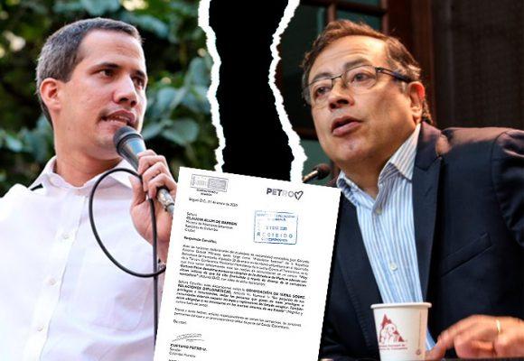 Reclamo formal de Petro contra Guaido ante Cancillería