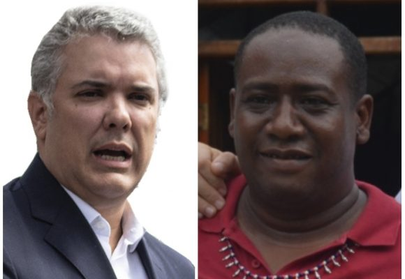 Leyder Palacio llega armado de argumentos a su reunión con Duque