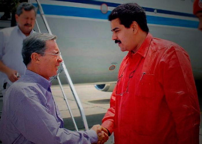 Los elogios de Maduro a Alvaro Uribe