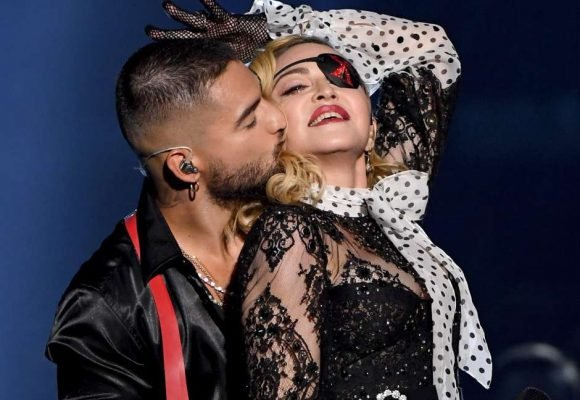 La mala suerte que Maluma le trajo a Madonna