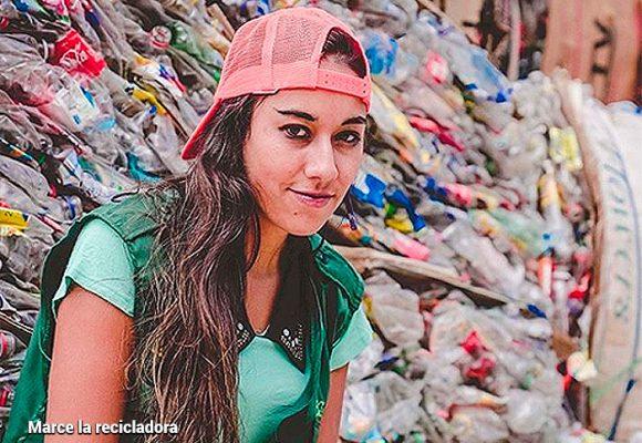 Las lecciones de basura que volvieron famosa a Marce