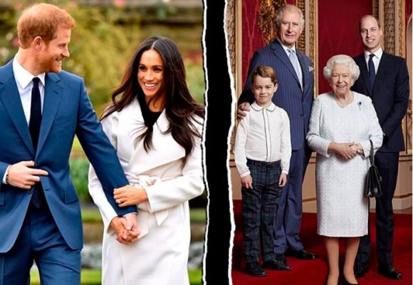 La caprichosa Megan impuso su ley:  se abren de la familia real