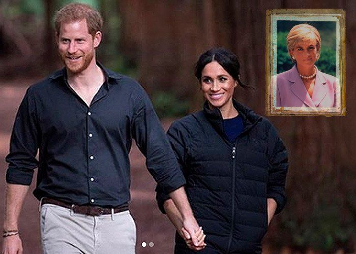 La millonaria herencia de Lady Di que salvó a Harry y Megan