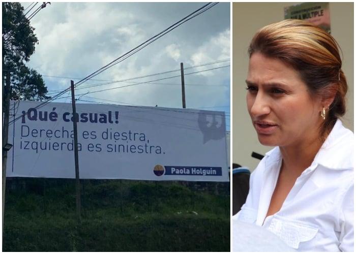 La propaganda uribista por la que Paola Holguín podría ir a la cárcel
