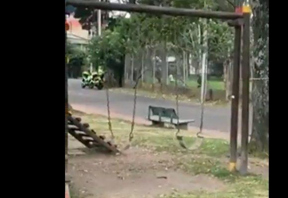 De esta forma la policía infiltra encapuchados dentro de la Universidad Nacional. Video