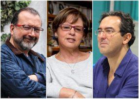 Bonnett, Ospina y Vásquez cerca de recibir el premio Biblioteca Narrativa