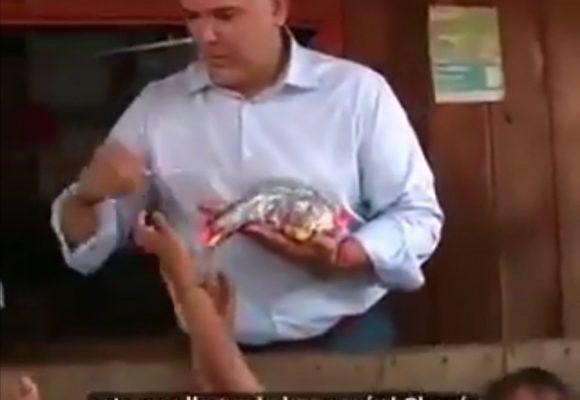 A punta de Bon Bon Bum quiere acabar Duque con el hambre en el Chocó. Video