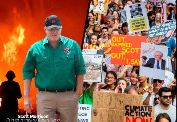 El primer ministro australiano que niega el cambio climático